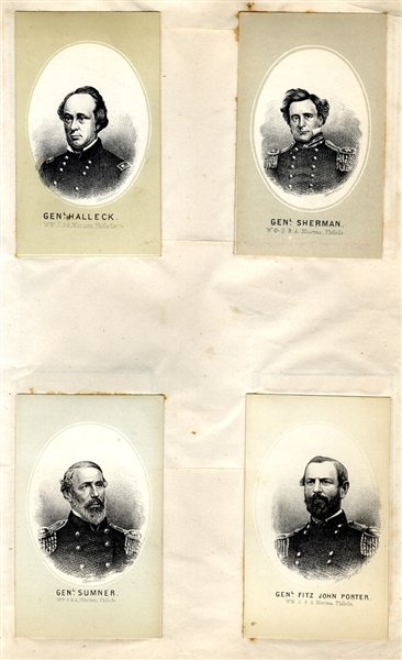 US Generals Trade Cards