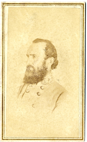 CDV of Stonewall Jackson