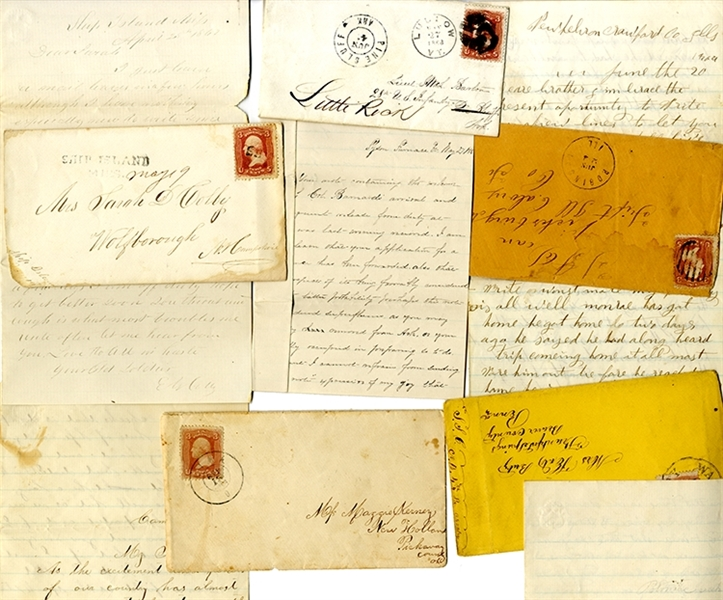 Union Soldier's Postal History Collection.