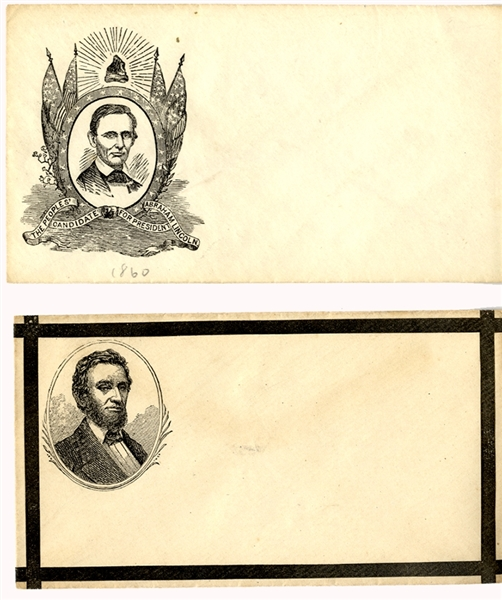 A Pair of Lincoln Covers To Include