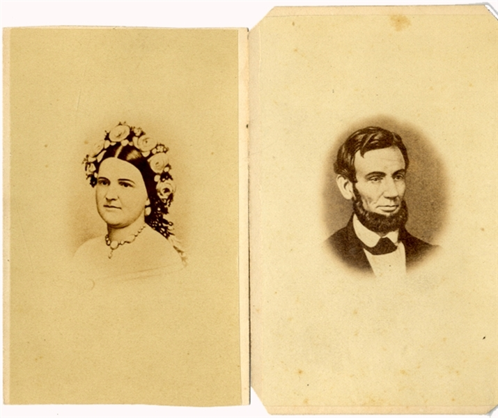 Abe and Mary Lincoln