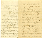 Two Letters regarding Lincoln's 2nd Inauguration
