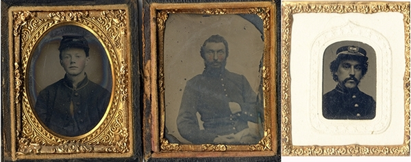Union Soldier Tintypes