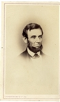 President Lincoln CDV by Fredricks