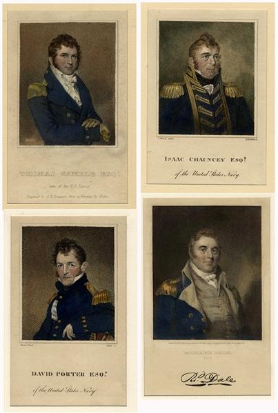 Our Early Naval Heroes