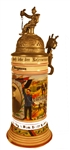 World War 1 Memorial German Beer Stein