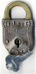 Heavy Mail Pouch Padlock With Key