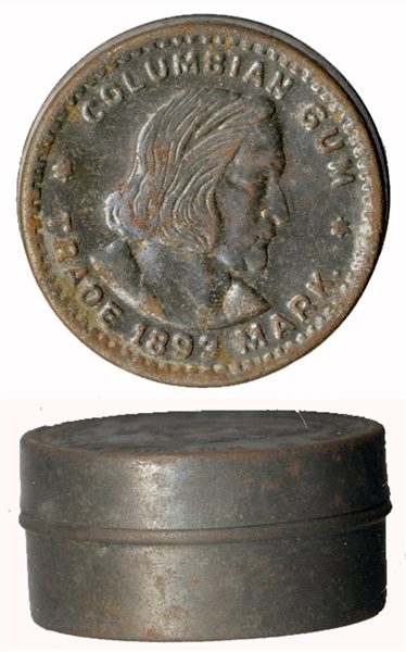 Columbian Half Dollar Tin