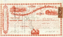 Mid-West Stock Certificate