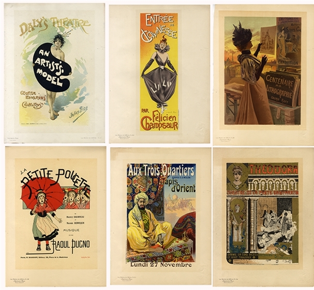 Art Nouveau French Prints