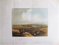 Scarce 1840 Print From Fort Union Montana