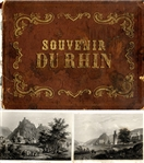 Circa 1850 Horizontal  Book of The Rhine