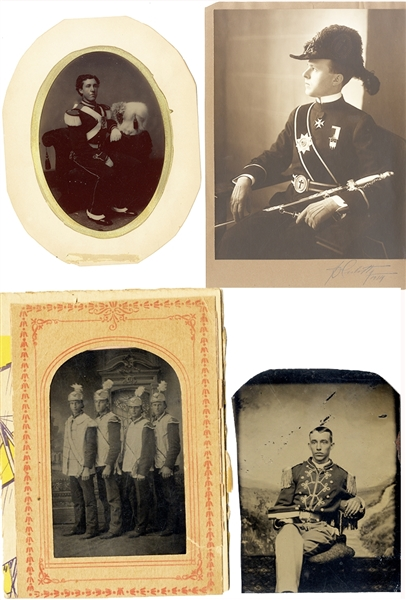 Full Plate Military Tintype