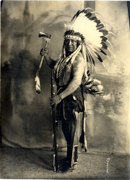 Chief of the Shoshone Tribe