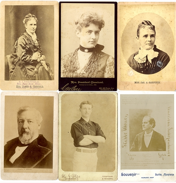 Group of Political Cabinet Cards
