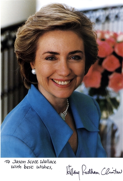 Hilliary Signed Photo