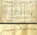 James Madison Land Grant