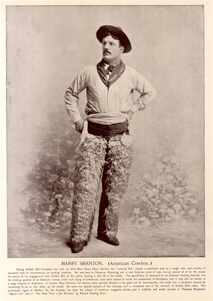 One of Buffalo Bill's Wild West Star