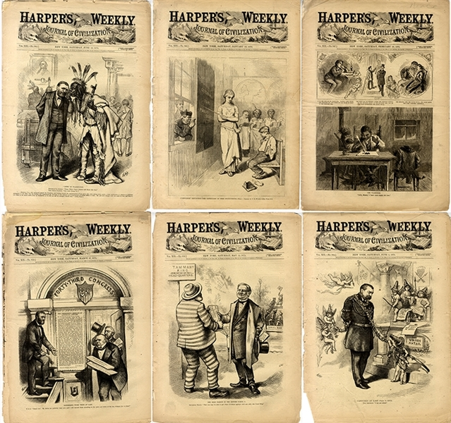 A group of Illustrated Newspapers