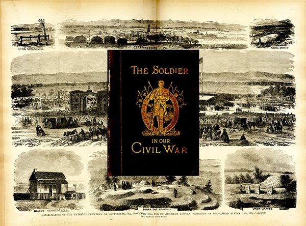 "Frank Leslie Publishes ""The Soldier in Our Civil War"""