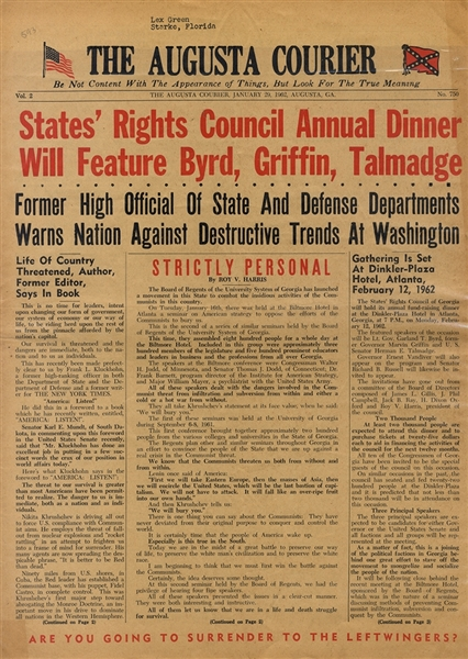 States' Rights Dinner