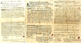 Three Colonial Connecticut Documents