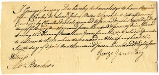 1784 Land Sale Document