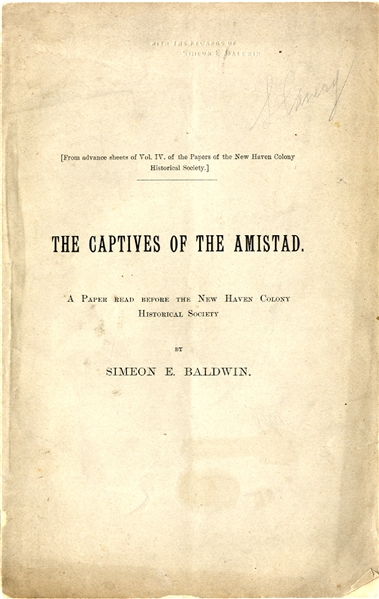 Reviewing the Amistad Case