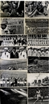 1936 Summer Olympic Games Photo Collection with several Featuring Jesse Owens.