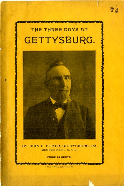 A Touring Hand Book of Gettysburg