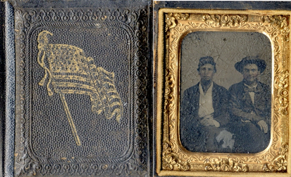 Tintype in Flag Case