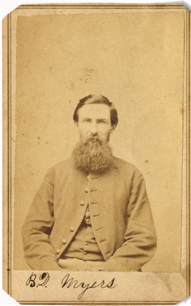 This  Soldier was Taken POW at Chancellorsville