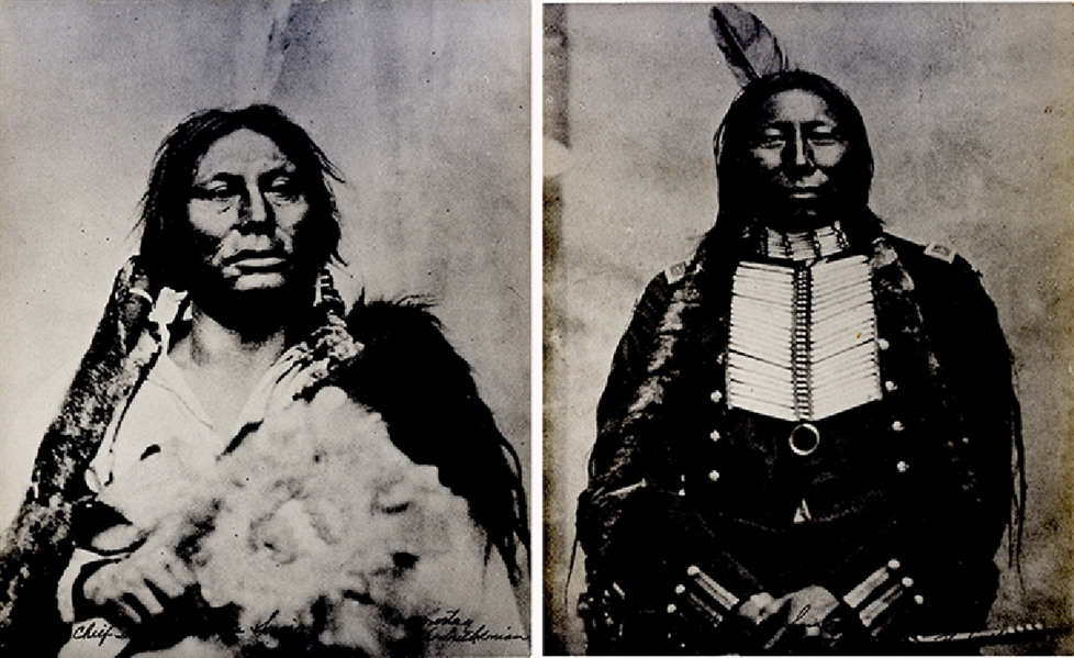 The Smithsonia Releases Images of the Battle of the Little Bighorn Indians