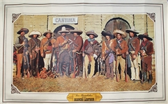 The Western Leather Poster - Great For The Man cave