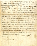 Rare New York Slave Bill of Sale