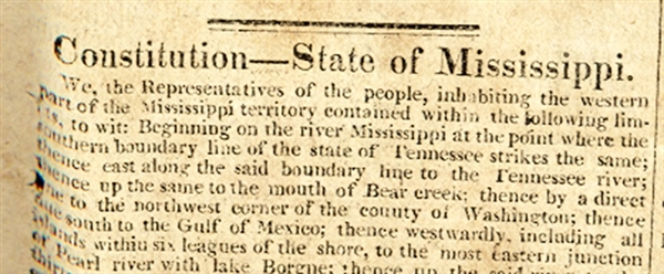 1817 - Mississippi Constitutions FORBIDS Emancipation of Slave and the Death of Paul Cuffe