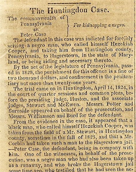 Is This A Case of Slave Stealing, or, Capturing a Fugitive Slave