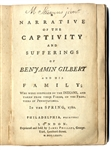 An Important Captivity Narrative, in the Pennsylvania Wilds During the Revolutionary War.