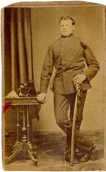 CDV of New York Soldier