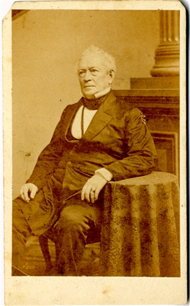 The other speaker at the dedication of Gettysburg's National Cemetery, Edward Everett