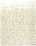 "Abraham Lincoln Is A ""Black Republican"" Letter December 1, 1860 ""Missouri Will Go With The South"""