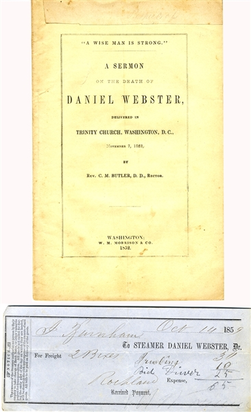 The Death of Daniel Webster