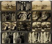 Group of eleven (11) Occupational Stereoviews