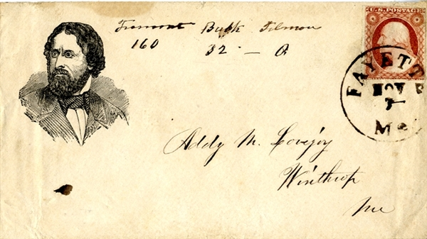 John Fremont 1856 Campaign Cover