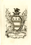 George Washingtons Bookplate