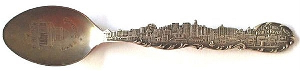 Great New York Skyline on this Grant Spoon