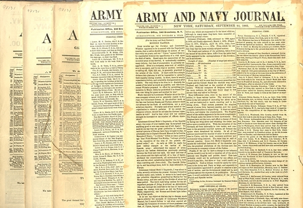 Army Navy Journal Grouping