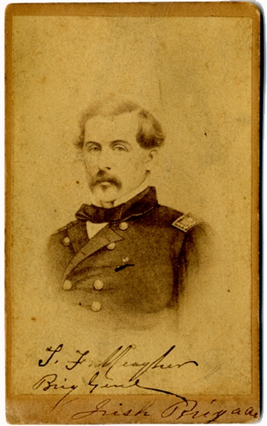 Drunk, Meagher fell off a steamboat in 1867 and drowned while serving as territorial secretary of Montana.