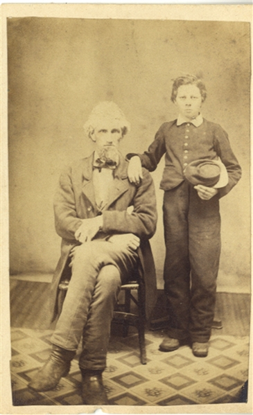 Father and Son - Studio Photograph
