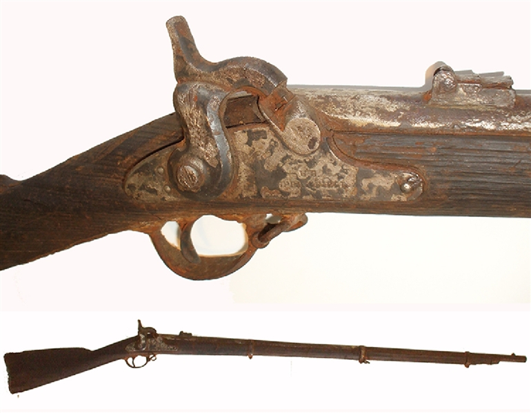 Recovered From the James River, Springfield Musket